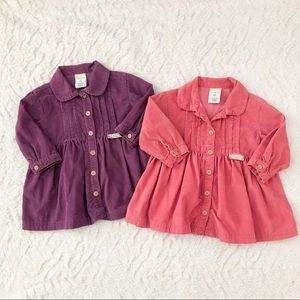 Old Navy Baby Girl Dress Set of 2 Size 6-12 Months